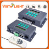 2 0utput regolatore supportante del regolatore della luminosità DMX delle porte DC12V Digitahi