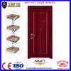 2017 portes en bois enduites intérieures de forces de défense principale de PVC de modèle neuf pour des salles