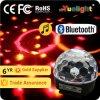 LEDの水晶魔法の球ライト手動エムピー・スリースピーカー及びBluetooth