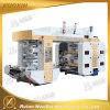 4/6 Farben-Plastikfilm-Drucken-Maschine flexographisch