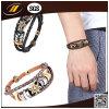 Il rifornimento della fabbrica progetta il braccialetto per il cliente di cuoio (HJ2108)