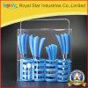 プラスチックハンドル(RYST0241C)が付いている24PCSテーブルウェア食事用器具類セット