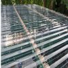 UV 보호된 100%년 바이어 폴리탄산염 물결 모양 플라스틱 온실 위원회