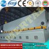 최신 CNC 공작 기계 유압 단두대 격판덮개 깎는 기계 또는 장 절단기 20*10000mm