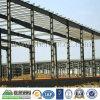Edificio prefabricado de la vertiente del almacén de la estructura de acero