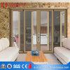 Porta deslizante de vidro do projeto da grade de Guangdong com preço de fábrica