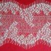 Neuer Entwurfs-weiße Blatt-Muster-Ineinander greifen-Gewebe-Wimper-Spitze für Hochzeits-Kleid-Abend-Kleid-Kleider