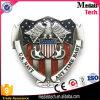 Qualität USA-Markierungsfahnen-Militärgürtelschnalle mit weichem Decklack