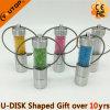 Clé de mémoire USB cylindrique de cadeau de diamant (YT-3312)