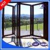Ventana modificada para requisitos particulares alta calidad del aluminio/de aluminio y puerta plegables