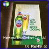 Teken van het Bier van het Vakje van het Kristal van de leiden- Omlijsting het Acryl Lichte voor de Muur Opgezette Raad van de Vertoning