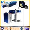 Máquina barata de la etiqueta de plástico del laser del CO2 20W para el caucho plástico de madera