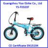 36V 10A vendem por atacado a E-Bicicleta dobrável gorda barata da neve de 20 polegadas