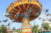 Het Pretpark berijdt de Openlucht Vliegende Speelplaats van de Stoel van de Schommeling van de Stoel