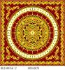 Black Carpet Tiles  ウズベキスタン(BDJ60056-2)