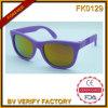 PC Frame de tendance avec le courant alternatif Lens Sunglasses pour Kids (FK0129)