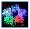 O casamento festivo do Natal por atacado das lâmpadas instantâneas das luzes da lâmpada do diodo emissor de luz 10m 100 da fonte ilumina a corda da luz da árvore de Natal