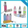 bouteilles d'eau en verre de bouche étroite personnalisées par 350ml pour l'eau Dx-108