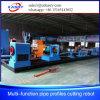 CNC van het Profiel van de pijp de Scherpe Machine van het Plasma van de Vlam