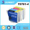 Cumbre Compatible Color Ink Cartridge para Epson T0761-4