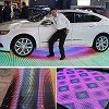 Salas de baile sensitivas al contacto del pixel del LED Dance Floor P6.25mm LED RGB con la pantalla video a todo color