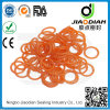 SGS RoHS FDA Certificates As568-JIS2401-ISO3601 (O-RINGS-0068)를 가진 주황색 Silicone O Rings Mechanical Seals
