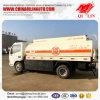 Verlaten Dongfeng 4X2/de Rechtse Olie van de Aandrijving tankt Tankwagen bij