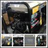 Generatore diesel portatile del saldatore di 2.5/4.6 chilowatt