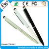 Crayon lecteur rotatoire d'aiguille en métal de crayon lecteur de bille d'aiguille pour le crayon lecteur promotionnel de contact