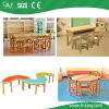 El plástico barato usado pre-entrenamiento caliente de la escuela de la venta embroma las tablas y las sillas para la venta