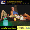 Material del PE recargable lámpara de mano LED