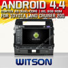 Witson Android 4.4 Car DVD para a terra Cruiser 200 de Toyota com o Internet DVR Support da ROM WiFi 3G do chipset 1080P 8g