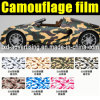 Bolha Free Removable Camouflage Adhesive Vinyl Film para Cars Decoration Wrapping