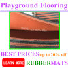 Pavimentazione di gomma della sosta del campo da giuoco/pavimentazione di gomma di alta qualità