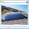 Sistema de aquecimento solar rachado de água de África