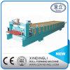 O CNC colore o rolo trapezoidalmente de aço do painel do telhado que dá forma à maquinaria