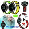 IP67 impermeabilizzano e braccialetto astuto antipolvere con pressione sanguigna