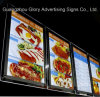 Acrylic LED Sign Menu Board/Indoor Acrylic Fast Food Menu Board