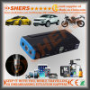16800mAh Lithium Portable Jump Starter Saída USB DC Outlet LED Light Sos Light Strobe Light