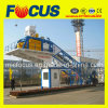 Centrale de malaxage concrète mobile automatique, centrale 50~60m3/H de traitement en lots concrète mobile