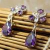 K013 de Nieuwe Met de hand gemaakte Juwelen van de Oorring van het Kristal van de Boutique Arrivaled
