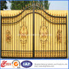 カスタムヨーロッパのSafety Ornamental Wrought Iron Estate GateかDoor