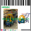 Carros plásticos do trole da compra do supermercado dos cabritos das crianças