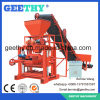 Máquina de fatura de tijolo concreta pequena da cavidade da máquina do tijolo de Qtj4-35A