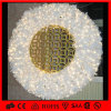 Het witte het Hangen LEIDENE van het Motief van de Decoratie van Kerstmis Licht van de Kroon