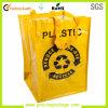 Sacos de compra reusáveis tecidos PP laminados promoção do mantimento
