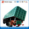 Tri-Axle 60t Hydraulic Cylinder Tipper Semi Trailer für Sale