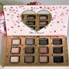 Caliente vendiendo la sombra de ojo también hecha frente de la gama de colores del sombreador de ojos del corazón 12colors
