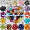 Perle en plastique de bijou de talons ronds acryliques d'imitation de perle d'ABS de DIY trouvant 6-20mm
