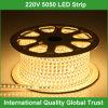 Flexibler heller Streifen 110 Volt-LED wasserdicht